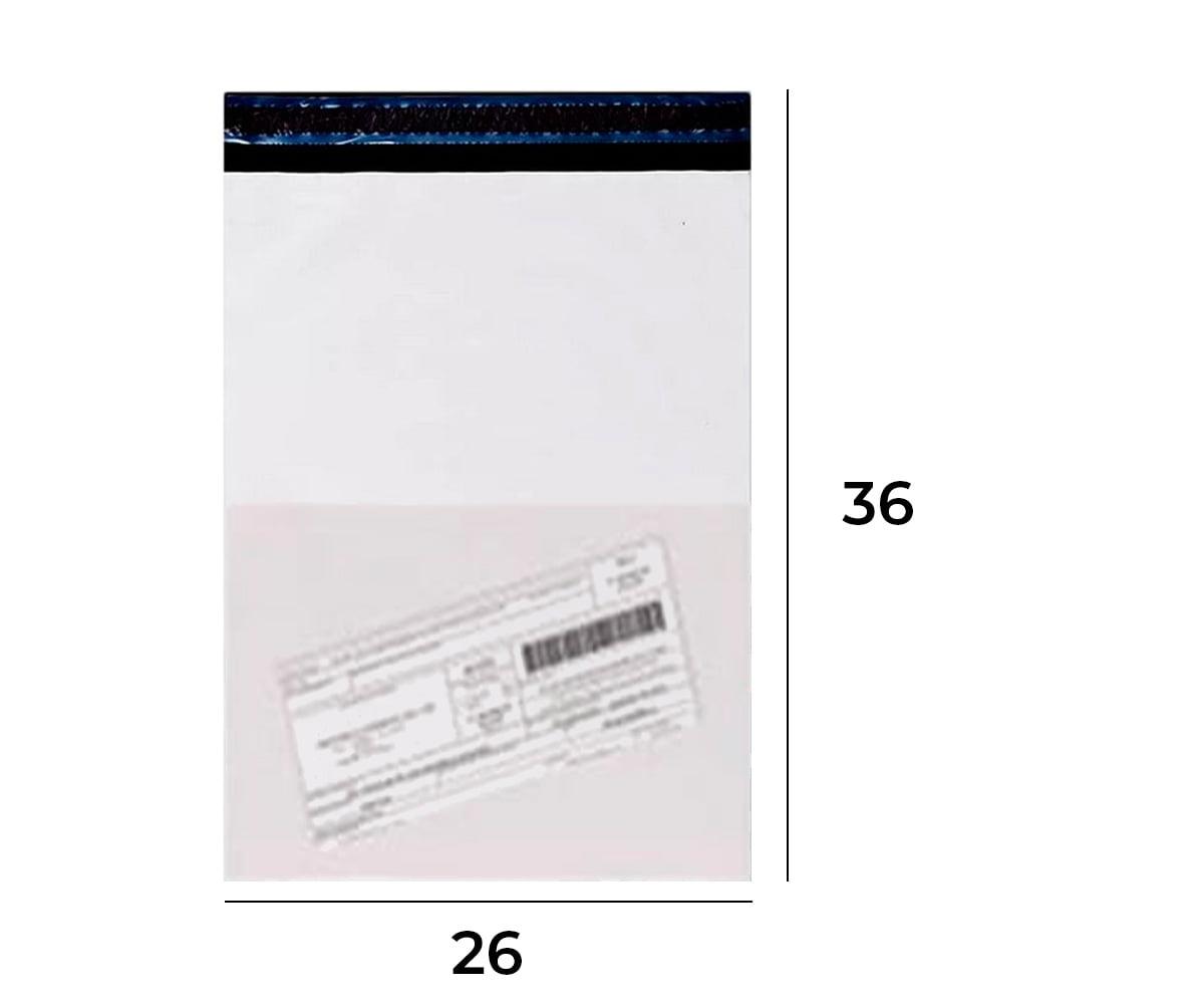 Envelope de Segurança com Bolsa para Nota Fiscal 26x36