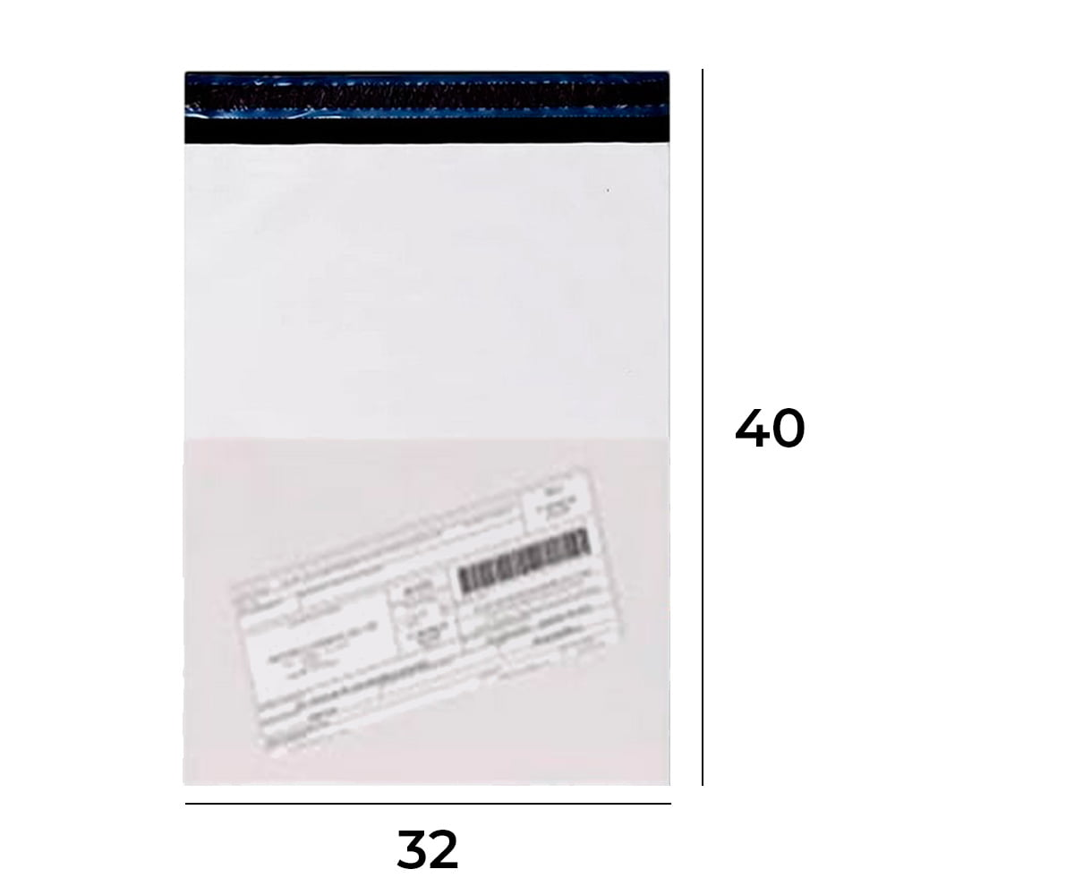 Envelope de Segurança com Bolsa para Nota Fiscal 32x40