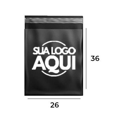 Envelope de Segurança Personalizado Black 26x36