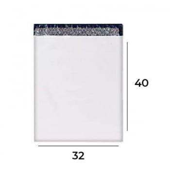 Envelope com Plástico Bolha para Correios 32x40