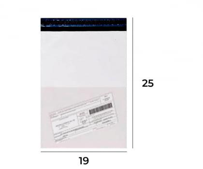 Envelope de Segurança com Bolsa para Nota Fiscal 19x25