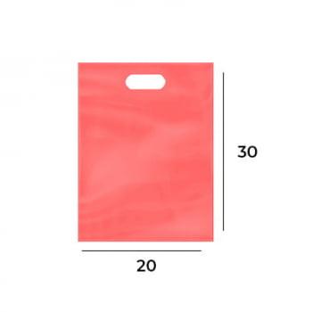 Sacola Plástica Boca de Palhaço 20x30